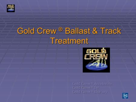 Gold Crew ® Ballast & Track Treatment. Spills in Rail yards happen every day.