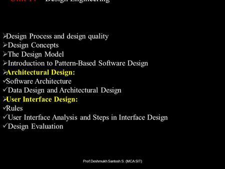 Software Engineering Software Design Ppt Download