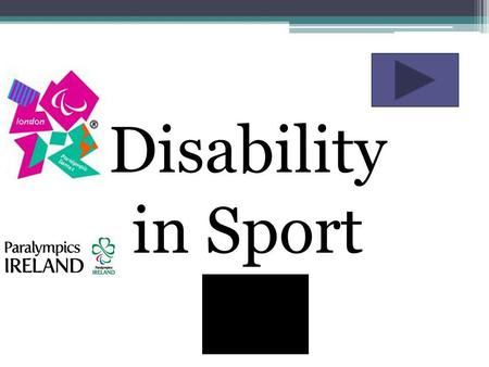 Disability in Sport. Disability Awareness On Equal Terms Disabled people are tired of being invisible and are declaring their right to an equal chance.