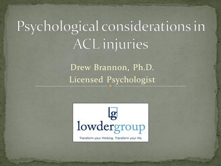 Drew Brannon, Ph.D. Licensed Psychologist. Brief background Case of Madi Diagnosis and management Return to play considerations Prevention and protocol.