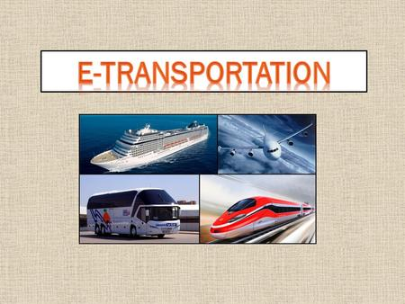 Land transportation simply means any form of transportation that takes place onland.