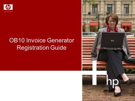 OB10 Invoice Generator Registration Guide