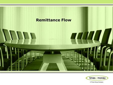 Remittance Flow. Process Registration (One time process) Add Receivers Details (One time process) Add Senders Bank Account (One time process) Bank Verification.