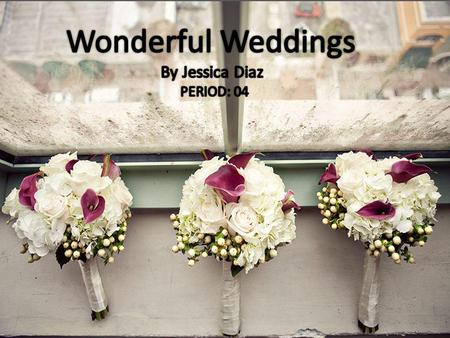 Executive Summary Wonderful Weddings will succeed because we Treat our customers with gratitude, we listen to your wants and needs and make your wedding.