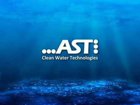 Overview AST Clean water technologies was requested to design and construct an Industrial Waste water Treatment Plant with a capacity of 35 m 3 /h in.