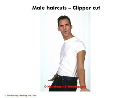 Male haircuts – Clipper cut