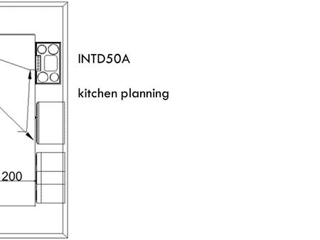 INTD50A kitchen planning. a kitchen should be located near: the service entrance and dining area the cluster of rooms that creates the service area.