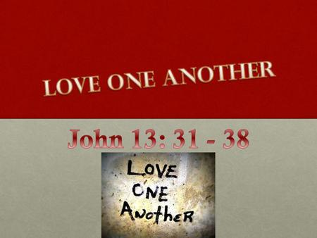 One Another's Series Be devoted to one another Live in harmony with one another Accept one another Serve one another Bear with & forgive one another Be.