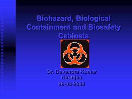 BIOHAZRD A biological agent, such as an infectious microorganism, that constitutes a threat to humans or to the environment, especially one produced in.