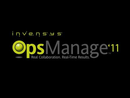 © 2010 Invensys. All Rights Reserved. The names, logos, and taglines identifying the products and services of Invensys are proprietary marks of Invensys.