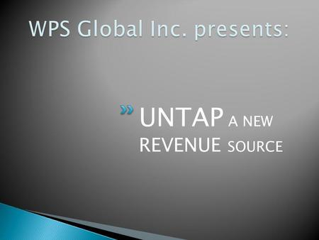 UNTAP A NEW REVENUE SOURCE. High Energy Users Energy Efficiency Corrugators, paperboard and packaging facilities Operate large, high-energy usage equipment.