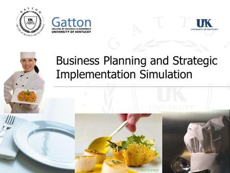 Business Planning and Strategic Implementation Simulation.