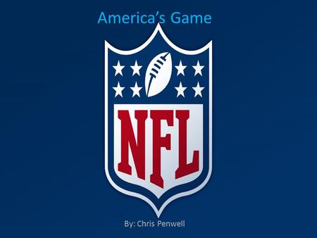 Americas Game By: Chris Penwell. Dallas Cowboys are one of the teams that went to the most Super Bowls in the NFL history. They have a lot of records.