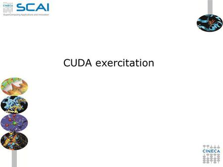 CUDA exercitation. Ex 1 Analyze device properties of each device on the node by using cudaGetDeviceProperties function Check the compute capability, global.
