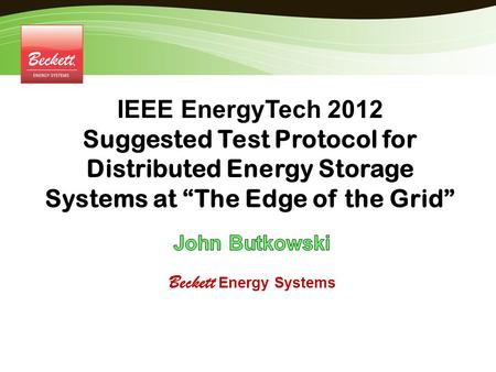 Beckett Energy Systems