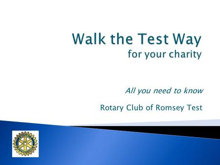 All you need to know Rotary Club of Romsey Test. Rotary Club of Romsey Test. We are one of 2 Rotary Clubs in Romsey. Our Club founded in 1990 & we have.