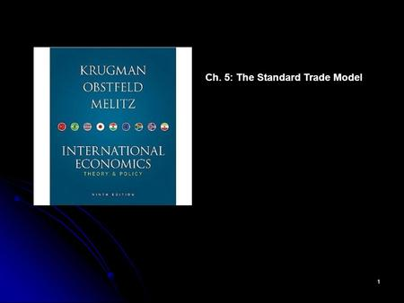 Ch. 5: The Standard Trade Model