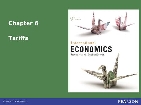 Chapter 6 Tariffs.