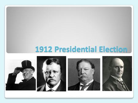 1912 Presidential Election. 1910-1912 The Republican Party splits Ballinger-Pinchot Affair (conservation) Payne-Aldrich Tariff (protective tariff) Gifford.
