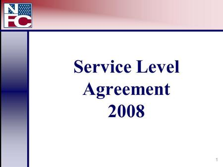 1 Service Level Agreement 2008. 2 Service Level Agreement Based on Lines of Business Payroll Processing EmpowHR Pay Tech DPRS CLER.