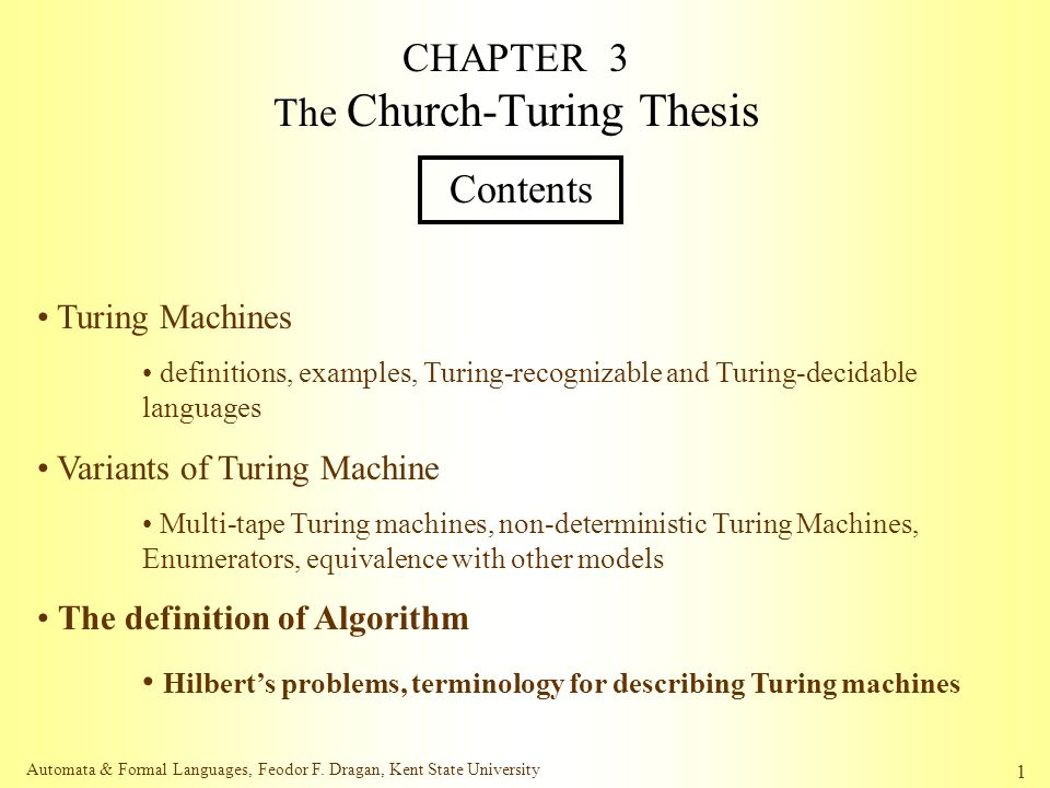 Church-turing thesis definition salome essay