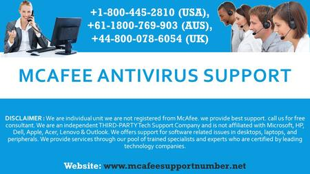 Mcafee Support phone number, mcafee antivirus technical support