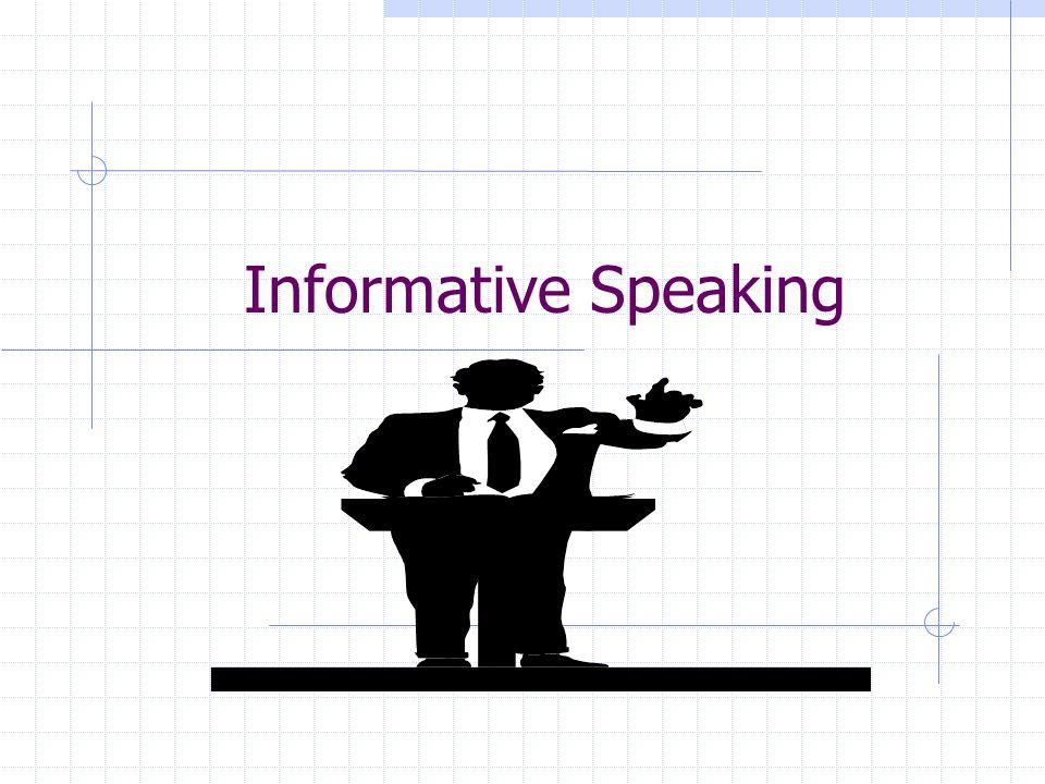 Informative Speaking Ppt Video Online Download