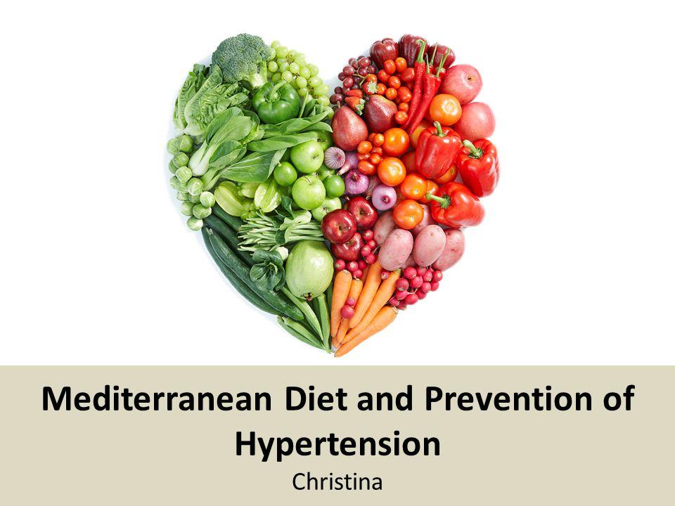 is the mediterranian diet good for hypertension