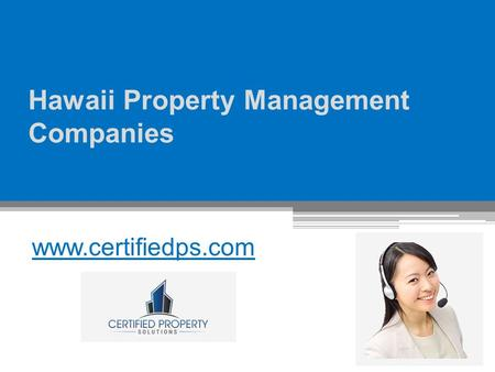 Hawaii Property Management Companies