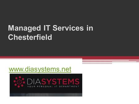Managed IT Services in Chesterfield