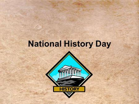 National History Day. Why participate in Maryland History Day? Learning about history is fun! With Maryland History Day, history is much more than memorizing.