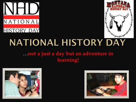 … not a just a day but an adventure in learning!.