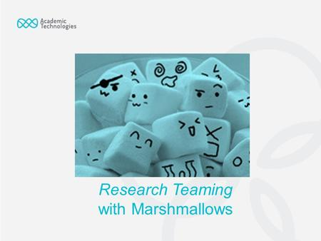 Research Teaming with Marshmallows. As a team, you will need to construct a catapult that can launch a marshmallow the farthest distance. Your team will.