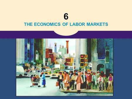 6 THE ECONOMICS OF LABOR MARKETS. Copyright©2004 South-Western 18 The Markets for the Factors of Production.
