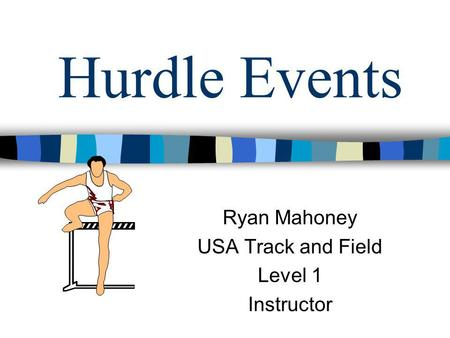 Ryan Mahoney USA Track and Field Level 1 Instructor