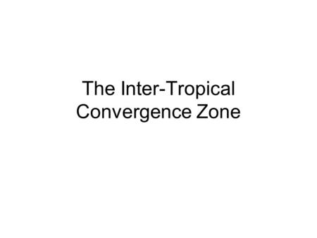 The Inter-Tropical Convergence Zone. The greatest amount of rain falls across the coast of West Africa. Here rainfall can exceed 2000mm per year. The.