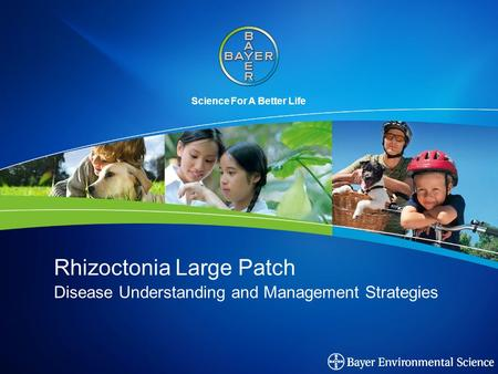 Science For A Better Life Rhizoctonia Large Patch Disease Understanding and Management Strategies.