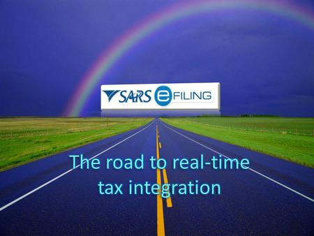 The road to real-time tax integration