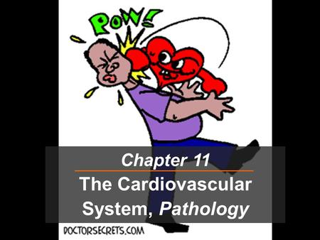 Chapter 11 The Cardiovascular System, Pathology. The Heart: Myocardial Infarction  M.I. = Coronary = Heart Attack  Occurs due to lack of blood (oxygen)