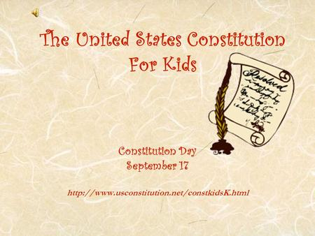 The United States Constitution For Kids