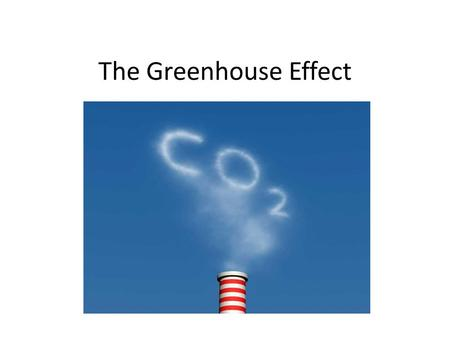 The Greenhouse Effect. The problem of global warming We can't say that we do not notice it or know nothing about it. The melting of ice, earthquakes and.