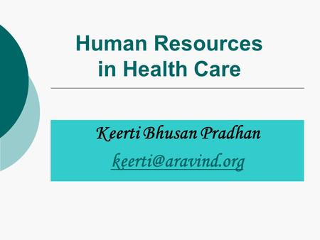 human resources for health care Health human resources (hhr) - also known as human resources for health (hrh) or health workforce - is defined as all people engaged in actions whose primary intent is to enhance health, according to the world health organization's world health report 2006.