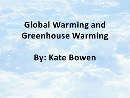 Greenhouse Effect: The heating of the surface of the earth due to the presence of an atmosphere containing gases that absorb and emit infrared radiation.
