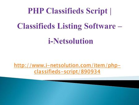 PHP Classifieds Script,Classifieds Listing Software,Classifieds Script, Wordpress Classifieds Theme