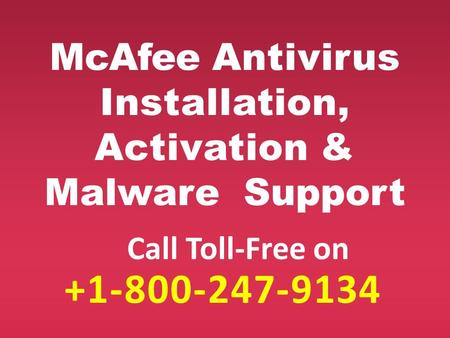 mcafee technical support number 1 (800)-247-9134 Mcafee customer service