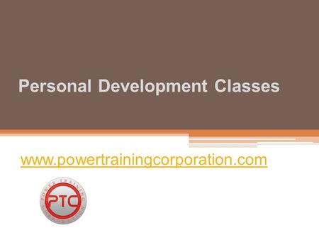 Personal Development Classes