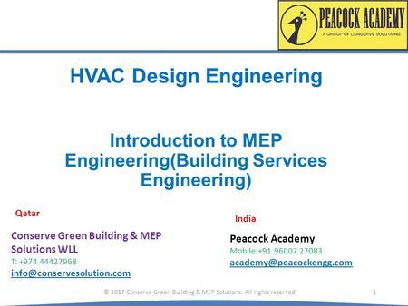 Mep Engineering Basics Ppt