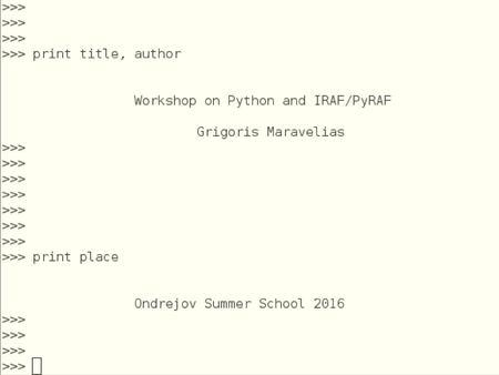Deep Learning with Python  파이썬 (python) 이란 ? 1991 년
