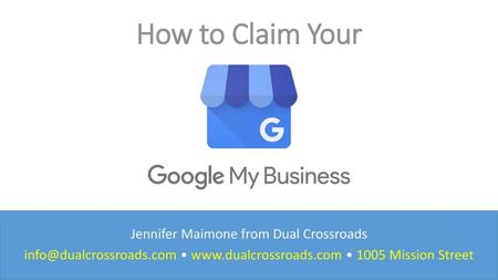 How to Claim Your Jennifer Maimone from Dual Crossroads