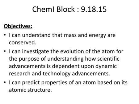 ChemI Block : Due: Atomic Structure Ranking Task Worksheet - ppt ...